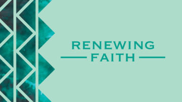 Renewing Faith